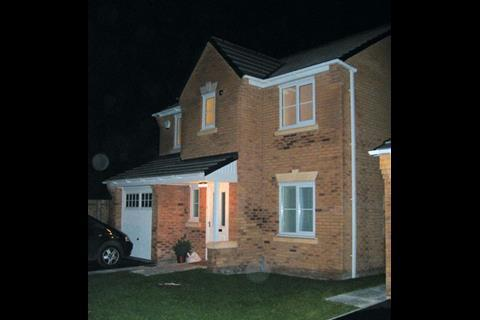 Their four-bedroom home is one of two pilots at Hunts Cross